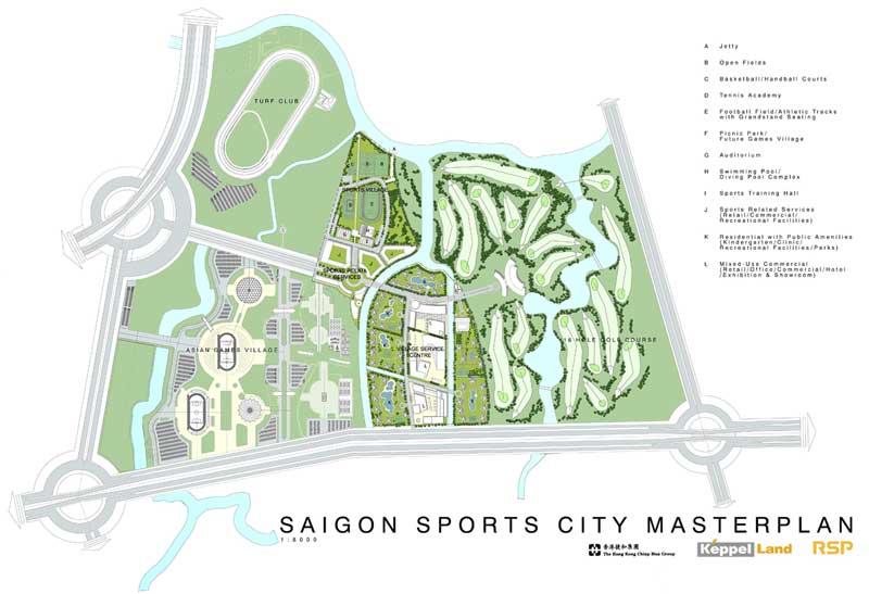 mat bang saigon sports city quan 2