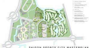 quy mo du an SaiGon Sport City