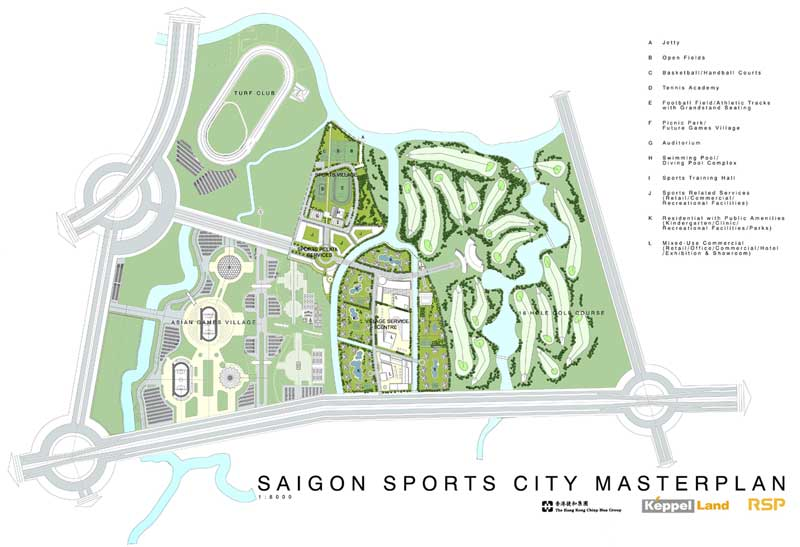 quy mo du an saigon sports city
